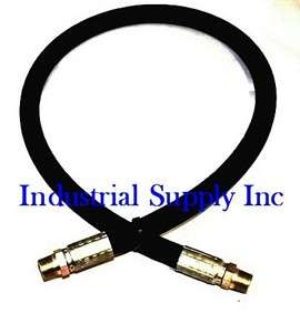 36 2 Wire Hydraulic Hose Assembly w/Male NPT