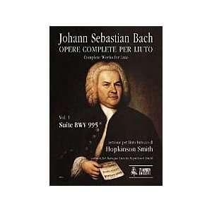 Lute. Vol. 1: Suite BWV 995. Baroque Lute version: Musical Instruments