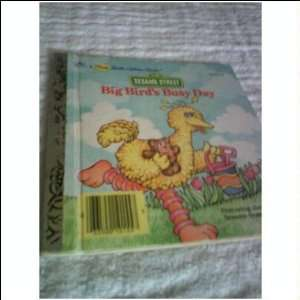 Big Birds Busy Day a Little Little Golden Book 26 Jessie