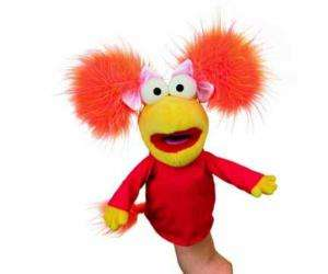 Fraggle Rock Red Jim Henson Muppets Hand Puppet