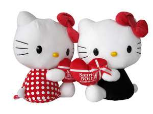 Sanrio 50th Anniversary Soft Toy HELLO KITTY Plush Doll