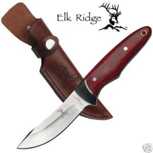 Elk Ridge Full Tang Backbone Hunting Skinning Knife NEW