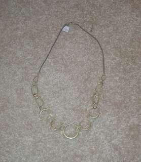 BRAND NEW Super Cute Lia Sophia Ringlet Necklace* RV $66