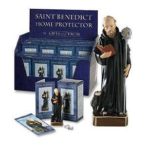 St. Benedict Statue home protection kit: Home & Kitchen