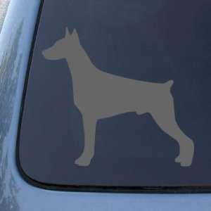 DOBERMAN SILHOUETTE   Dog   Vinyl Decal Sticker #1508 | Vinyl Color