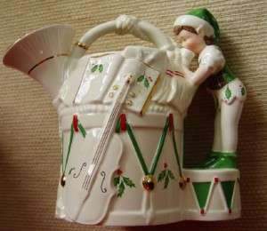Lenox Christmas Santas Holiday Toy Shop Pitcher Box