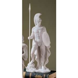 Ares Classical Greek God Bonded Marble Statue: Home