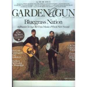 Garden and Gun Magazine February / March 2011 various Books