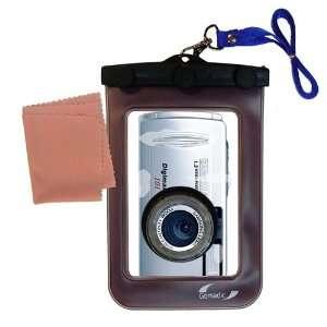 Gomadic Clean n Dry Waterproof Camera Case for the Samsung Digimax 100