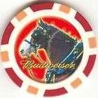 pc Harley Davidson Skull poker chips sample set #197
