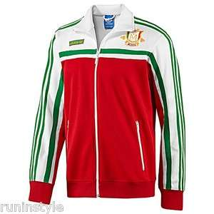 Mexico Track Top Jacket Top Mexican Viva Soccer Football Coat TT White