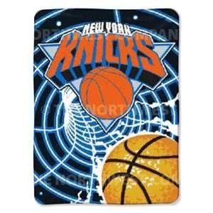 NBA 60 x 80 Super Plush Throw   New York Knicks   New York