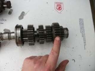 1981 Yamaha Maxim XJ 550 XJ550 engine transmission gear