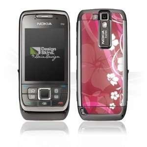 Design Skins for Nokia E66   Pink Flower Design Folie