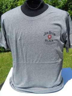 Jim Beam Black Whiskey Bourbon T Shirt NEW L