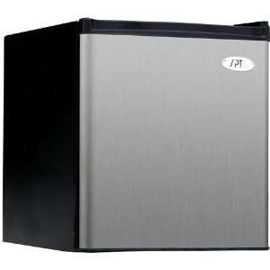 SPT 1.8 cu.ft. Compact Refrigerator in Stainless   Energy