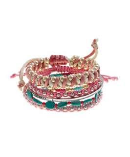 null (Multi Col) Multi Coloured Friendship Bracelets  247865999
