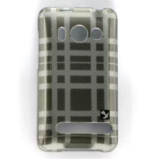 SMOKE CHECK DESIGN HARD PLASTIC ACCESSORY CASE COVER FOR HTC EVO 4G