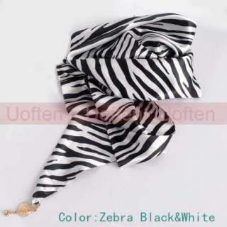 Charming Silk Long Triangle Scarf Shawls Wrap for Women Lady Different