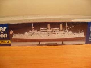REVELL CRUISER USS U.S.S. OLYMPIA 1232 1/232 SCALE MODEL KIT NEW