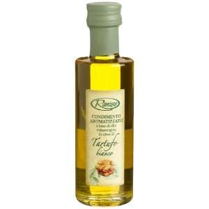 White Truffle Infused Extra Virgin Olive Oil), 3.38 Ounce Glass Bottle