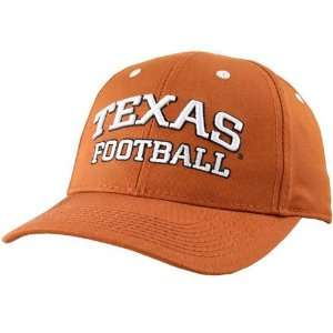 Texas Longhorns Burnt Orange Football Coaches Hat Sports & Outdoors