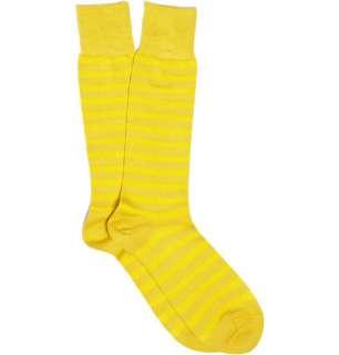 Accessories  Socks  Casual socks  Striped Cotton