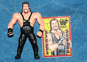 WWF Diesel Bend Ems Action Figure