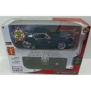 to Run Radio Control 1967 Ford Mustang Gt in Color Black Toys & Games
