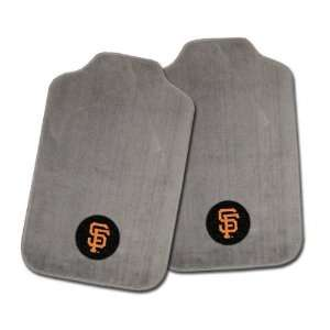 San Francisco Giants Grey Cloth Floor Mats Sports