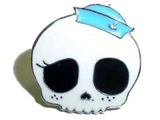 Sailor Girlie Skull Totenkopf Rockabilly Zehenring