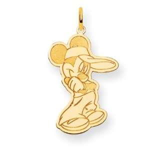 14k Disney Mickey Charm   JewelryWeb Jewelry