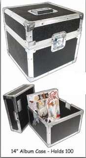 LP Album Collectors Storage/DJ ATA Travel Case