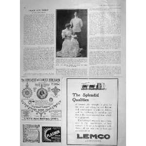 1906 PRINCE ANDREW GREECE PRINCESS ALICE LEMCO EVANS