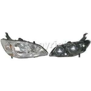 HEADLIGHT honda CIVIC COUPE 04 05 HYBRID SEDAN light lamp