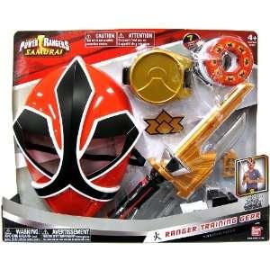 Power Rangers Fire Samurai RED Ranger Training Gear VERSION 2  Toys