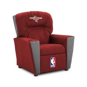 Houston Rockets NBA Team Logo Kids Recliner Sports