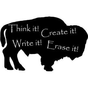 Buffalo / American Bison  Large  Vinyl Wall Decal