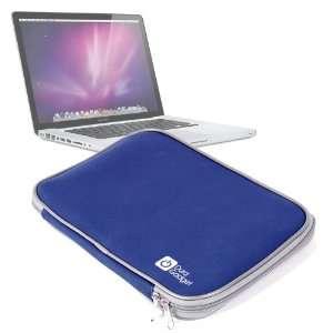 Splash Resistant Blue Neoprene Laptop Case For Apple 15