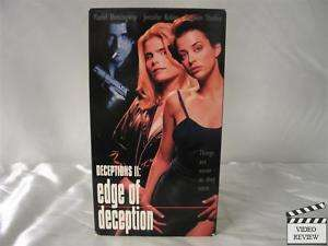 Edge of Deception VHS Mariel Hemingway 085365106734