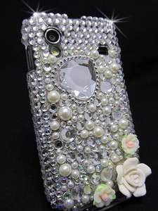 Samsung Galaxy Ace S5830 Cover Case Hülle Schutzhülle Strass Glitzer