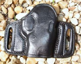 RH BELT SLIDE LEATHER HOLSTER for S&W BODYGUARD 380