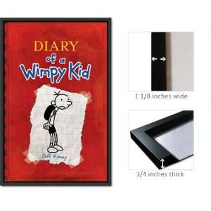 Framed Diary Wimpy Kid Poster Jeff Kinney Fr6396 Home