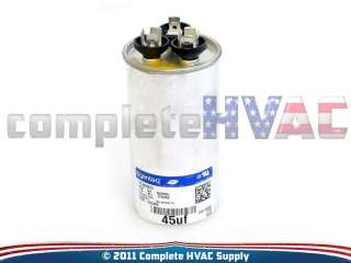 Carrier Payne 45 5 uf 370 VAC Run Capacitor P291 4553R P291 4553RS