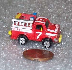 Micro Machines: RESCUE TRUCK ( Datsun ) NEW
