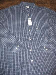 Mens Old Navy Long Sleeve Blue Button Down Shirt Shirts Medium New