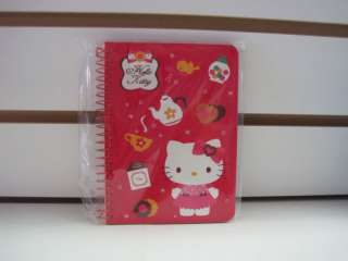 HELLO KITTY TEA TIME STICKER BOOK CUTE