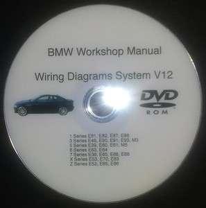 BMW 3 Series E46 E90 E91 E92 E93 Wiring Diagrams WDS V12