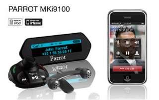 Parrot MKi9100 Music Bluetooth Car Kit + Land Rover SOT 971 Logic 7