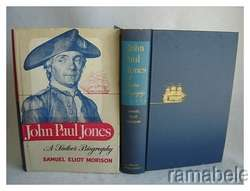 John Paul Jones 1959 Book Sailor Maps Charts Diagrams